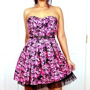 Guess Rose Tulle Party Dress